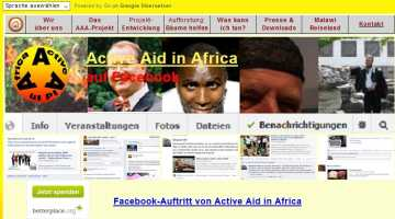 Active Aid in Africa auf Facebook