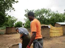 Active Aid in Africa, Malawi, Brunnen
