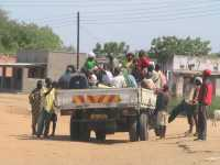 Lower Shire-Malawi-Massentransport